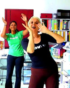 Office MUVE is spontaneous dance for small spaces. Fun fitness and dance exercise at its best. See the whole line-up here https://muve.org/blog/category/office-muve/