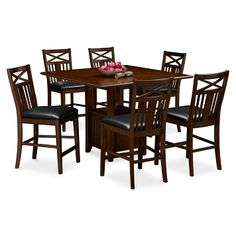 Brook 24  Decor Home And Counter Stools Classy Value City Kitchen Sets Review