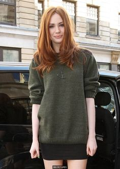Karen Gillan, b Inverness - Scottish/Pictish? Karen Gillan, Karen Sheila Gillan, Pretty Redhead, Redhead Girl, Redhead Hairstyles, Rides Front, Strawberry Blonde, Grunge Hair, Mode Outfits