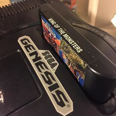 """Shared by gamingclt #segagenesis #microhobbit (o) http://ift.tt/1RydpJN's game will be """"King of the Monsters"""" on the SEGA Genesis. The Neo Geo classic was way better in the arcades but this version is acceptable. Another great Takara port.  #retrocollectivecanada #neogeo #kingofmonsters #sega #genesis"""