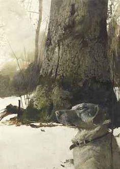 Andrew Wyeth - Rocky Hill
