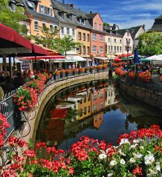 Saarburg in Germany