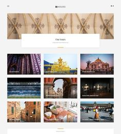 Website for travel guide Create Website, Travel Guide, Wordpress, Photo Wall, Museum, Tours, Blog, Beautiful, Design