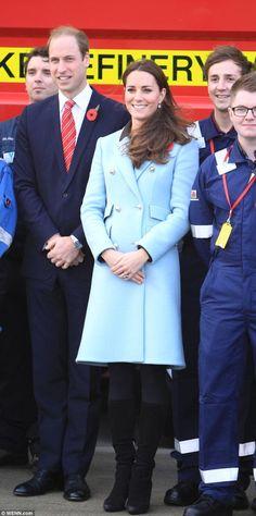 Kate's Coat Is On Keep!