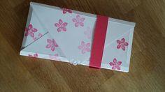 Stampin up envelope punch Bord  Verpackung für Schokolade