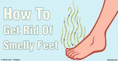 Smelly feet is the source of the stinking scent in your shoes. Here are some tips on how you can get rid of smelly feet and shoes. http://articles.mercola.com/sites/articles/archive/2016/05/28/how-to-get-rid-of-smelly-feet.aspx