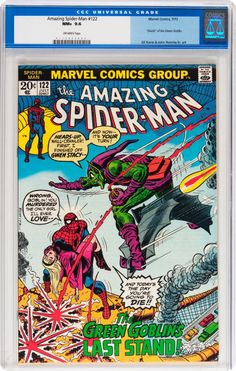 The Amazing Spider-Man #122 (Marvel, 1973) CGC NM+ 9.6 Off-white pages