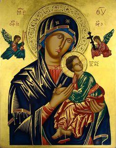 Conheça a história e o simbolismo do ícone de Nossa Senhora do Perpétuo Socorro, que remonta ao tempo dos primeiros cristãos.