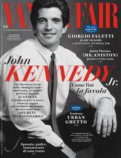 Les Kennedy, John Kennedy Jr, Carolyn Bessette Kennedy, Jfk Jr, James Dean, Vanity Fair Italia, Vanity Fair Magazine, John Junior, Justin Theroux