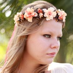 Tiara de Flores Vênus - G.Offer