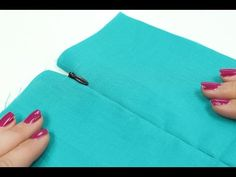 How To: Sewing Invisible Zipper - YouTube