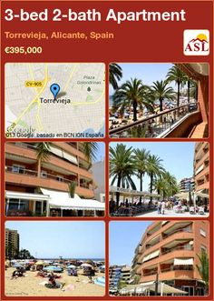 3-bed 2-bath Apartment in Torrevieja, Alicante, Spain ►€395,000 #PropertyForSaleInSpain