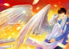 Cardcaptor Sakura - Touya x Yue by Youzt_柚 on pixiv