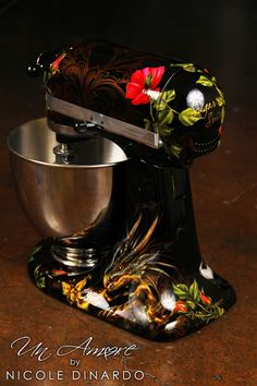 floral kitchenaid mixer