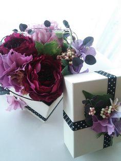 母の日に、いつもと違うお花でプレゼント