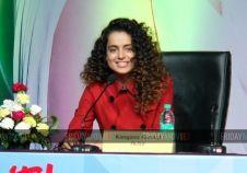 Kangana Ranaut at the inauguration of IITT 2015 exhibition