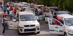The all-women TSD rally was held over a route in and around Pune city Pune, Rally, Cars, Women, Autos, Car, Automobile