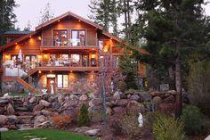 lake frontage landscaping | 4886 North Lake Boulevard | North Lake Tahoe Real Estate - Mark Moore