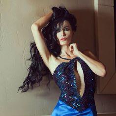 model Regina Salpagarova veste Patty Farinelli location Las Vegas