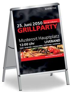 Verwende eines der coolen Plakatvorlagen um dein Event hervorzuheben. #cool #plakatvorlage #event