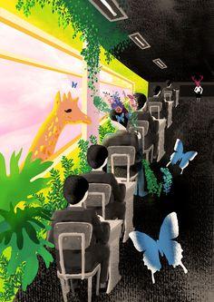 내 @Behance 프로젝트 확인: \u201c꿈꾸는 소년 (두번째) A dreamer\u201d https://www.behance.net/gallery/50896813/-()-A-dreamer