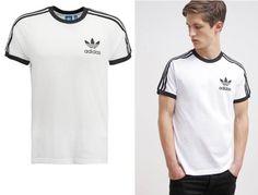 new arrival fff70 48250 Adidas Originals Camiseta Básica White hombre white Originals camiseta  básica ADIDAS Noe.Moda