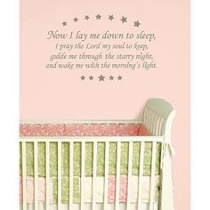 Ideal WallPops Baby Wall Wishes Prayer Wall Decal