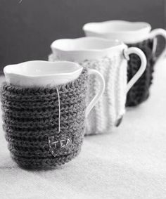 Knitted tea cup sweater!