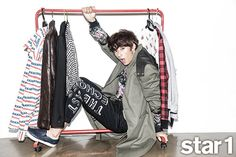 Gong Chan - @ Star1 Magazine September Issue '14
