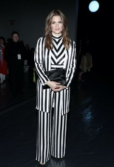 Stana Katic Photos - Stana Katic attends the Sally LaPointe front row during New York Fashion Week: The Shows at Gallery I at Spring Studios on February 2020 in New York City. - Sally LaPointe - Front Row - February 2020 - New York Fashion Week: The Shows Ny Fashion Week, New York Fashion, Fashion Show, Gala Gonzalez, Zoey Deutch, Stana Katic, Naomi Campbell, Blake Lively, Nicki Minaj