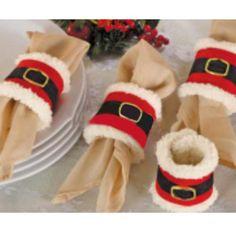 Aliexpress.com: Comprar 4 unids servilleteros navidad titular de bodas Party Banquet Decor de accesorios de decoración de mesa fiable proveedores en lucklucy