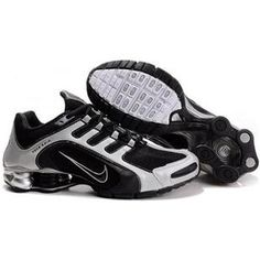7737c7beb6dfca 240265 001 Nike Shox Navina SI Black White J03001 Jordan Retro 4