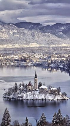 Isola San Giulio ~ is an island within Lake Orta in Piedmont, northwestern Italy