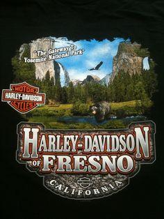 Yosemite custom t-shirt back print