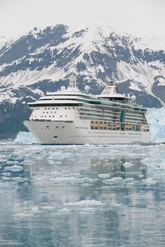 Royal Caribbean Radiance of the Seas.  I would love to do an Alaskan cruise on this ship.Please check out my website Thanks.  www.photopix.co.nz