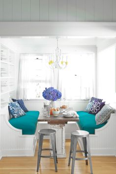banquette kitchen area rugs for hardwood floors 364 best banquettes images in 2019 dining lunch 42 easy breezy beach house decorating ideas