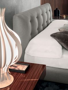Anderson Quilt Bed by Minotti - Via Designresource.co