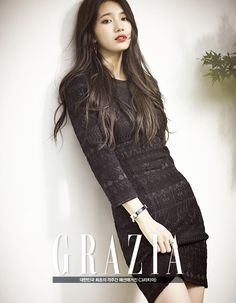 Suzy is the cover girl for 'CeCi's 20th anniversary issue + additional cuts for 'Grazia' and making-of video | allkpop.com