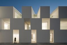 Residencia para la 3a edad (2011) in Alcácer do sal, by Aires Mateus architects from Portugal