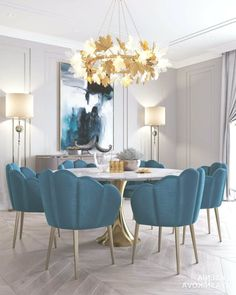 Modern dining chairs are every bit as important as your luxury dining table, so we reckon it's about time we pay them the attention they deserve. Luxury Dining Room, Dining Room Design, Dining Room Furniture, Antique Furniture, Furniture Decor, Furniture Makers, Furniture Removal, Wooden Furniture, Furniture Projects