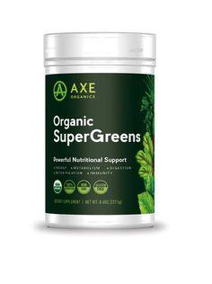 dr axe organic supergreens gluten free