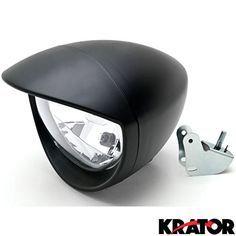 Krator® Universal Motorcycle Headlight Lamp Light Black Custom Cruiser Touring Chopper for any Harley, Honda, Yamaha, Suzuki, Kawasaki, Custom Bike, Cruiser, Choppers - http://www.caraccessoriesonlinemarket.com/krator-universal-motorcycle-headlight-lamp-light-black-custom-cruiser-touring-chopper-for-any-harley-honda-yamaha-suzuki-kawasaki-custom-bike-cruiser-choppers/  #Bike, #Black, #Chopper, #Choppers, #Cruiser, #Custom, #Harley, #Headlight, #Honda, #Kawasaki, #Krator, #