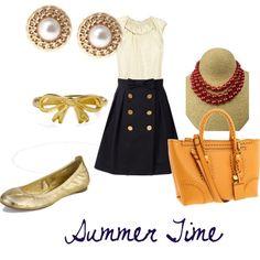 Preppy Summer Style
