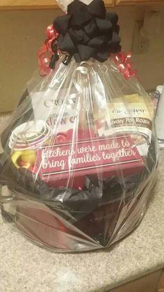 1000 images about crock pot basket on pinterest gift for Kitchen gift ideas under 30