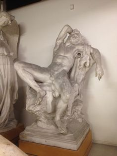 Siddende, sovende satyr. Græsk hellenistisk ca. 200 fvt.