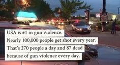 stats PolitiFact | Do 100,000 people get shot every year in U.S.? Facebook post says yes