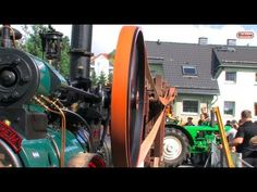 Dreschen mit der Dampfmaschine - historic threshing with steam engine