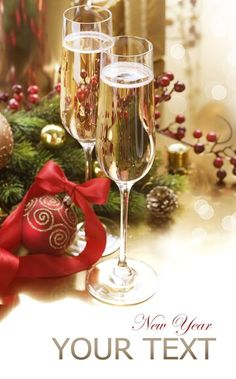 Photo about New Year Celebration. Two Champagne Glasses. Image of blink, decorations, bubbles - 22420530 Christmas Towels, Birthday Wishes Quotes, New Year Celebration, Champagne Glasses, Happy New Year, Wine Glass, Alcoholic Drinks, Bubbles, Stock Photos