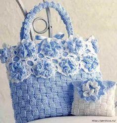 Patrón #1537: Bolso a Crochet #crochet  http://blgs.co/fiXAB1