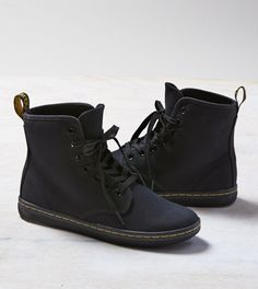 Black Dr. Martens Shoreditch Boot; I actually have this boot! I really recommend it, super comfy and cute with an edge